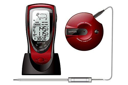 Santos Audio Digital Thermometer BBQ Wireless