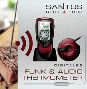 Santos Audio Digital BBQ Thermometer Wireless - 3