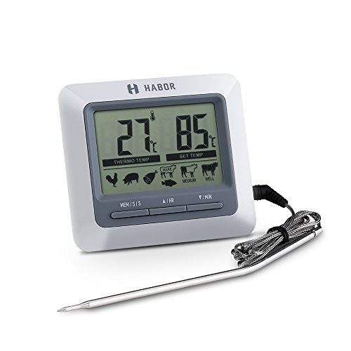 habor grillthermometer bratenthermometer ofenthermometer. Black Bedroom Furniture Sets. Home Design Ideas