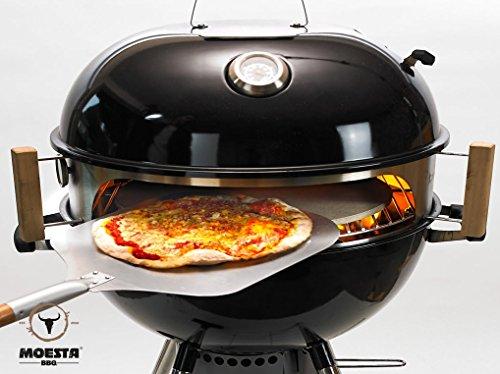 Smokin' PizzaRing – Komplettpaket für Pizza (47cm)