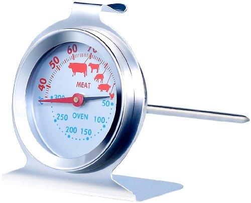 Rosenstein & Söhne 2in1 XL Braten- und Ofen-Thermometer für Gar- & Backofentemperatur